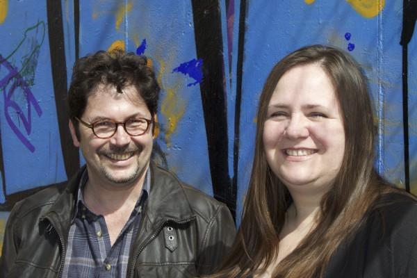 Déborah  Tanguy et Olivier  Cahours